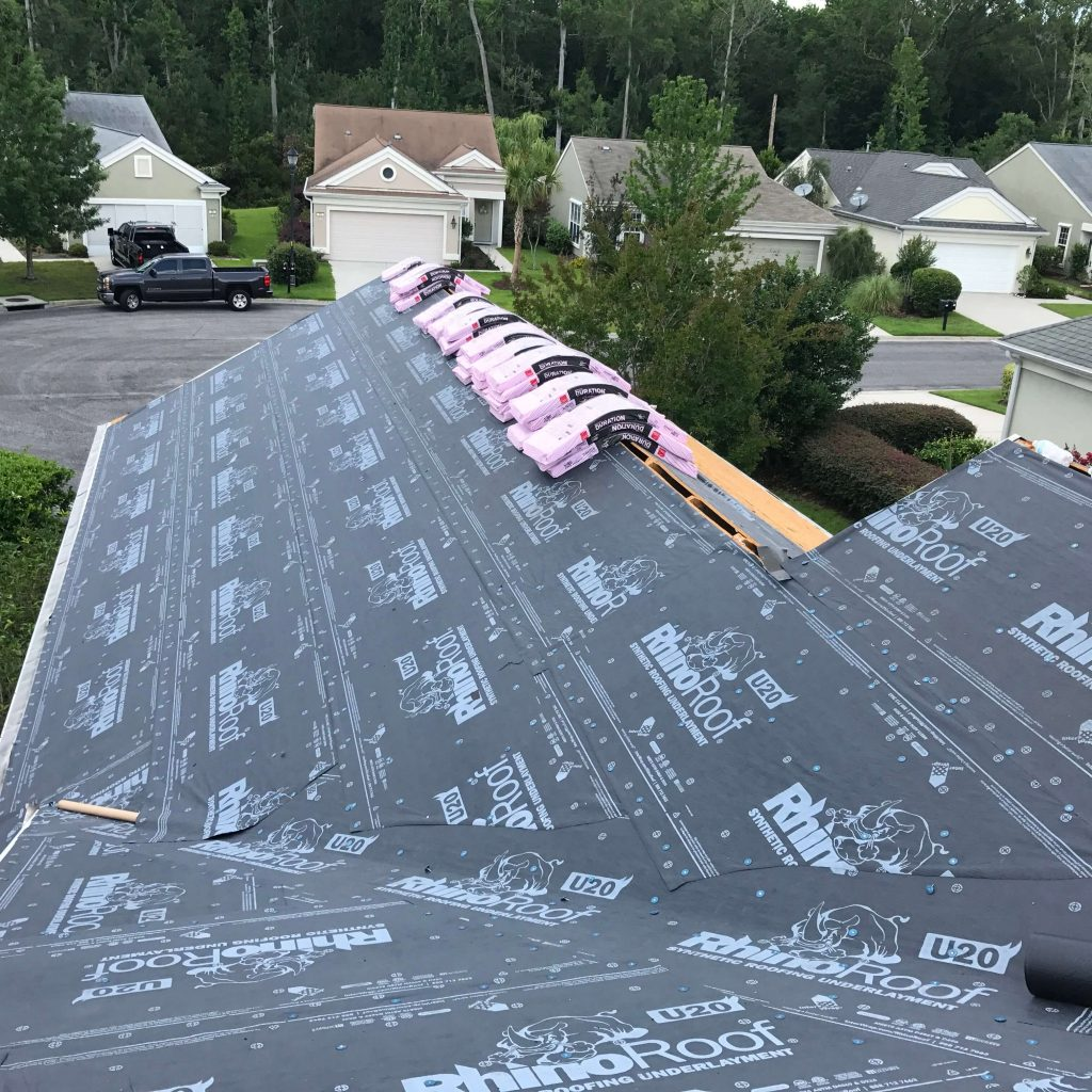 new roof installation services in Bluffton, SC.